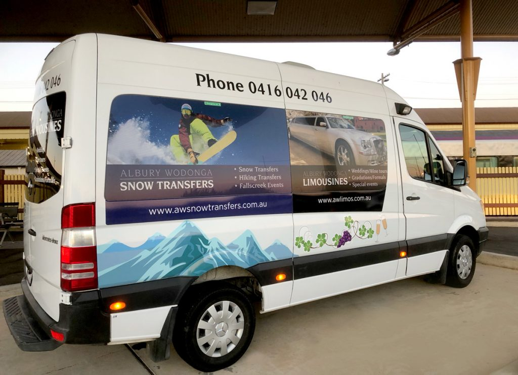 Albury Wodonga Limousines Sprinter Van