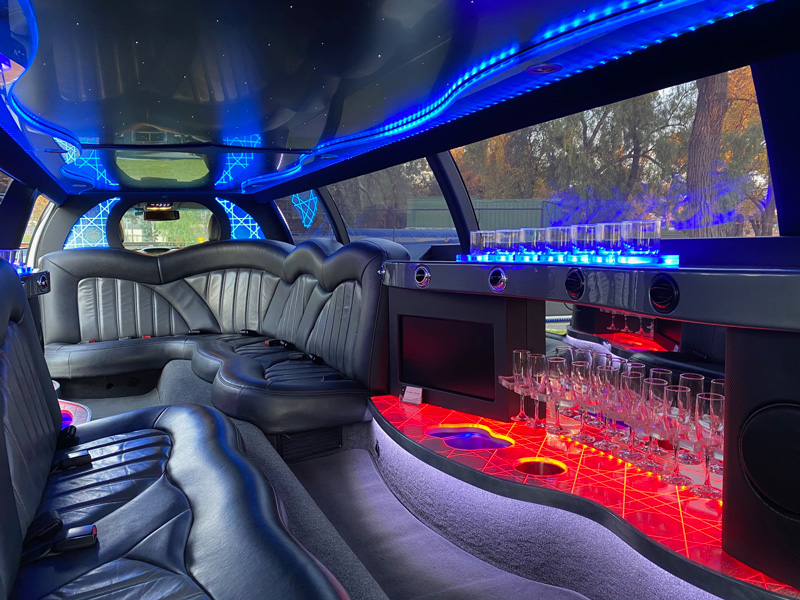 AW Limos new Ford FG Limousine Interior